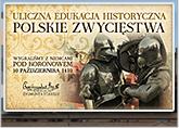 Logo akcji Uliczna edukacja historyczna